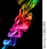 Радужный дым. Стоковое фото, фотограф Елена Черных / Фотобанк Лори