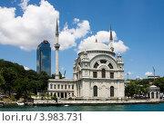 Купить «Мечеть Долмабахче, Стамбул, Турция», фото № 3983731, снято 28 июня 2012 г. (c) Наталья Белотелова / Фотобанк Лори