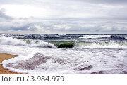 Волна Балтийского моря. Стоковое фото, фотограф Дмитрий Краснов / Фотобанк Лори