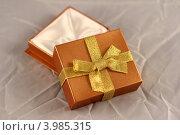 Подарочная коробка. Стоковое фото, фотограф Джакобия Екатерина / Фотобанк Лори