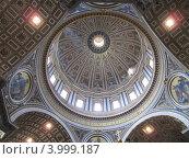 Собор Святого Петра в Ватикане (2012 год). Редакционное фото, фотограф Светлана Артамонова / Фотобанк Лори