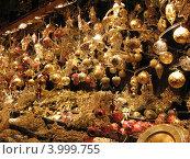 Рождественские сувениры. Стоковое фото, фотограф Олег Изюмченко / Фотобанк Лори