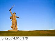 Купить «Волгоград. Родина-Мать зовет», фото № 4010179, снято 8 ноября 2012 г. (c) Вячеслав Беляев / Фотобанк Лори