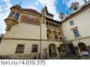 Замок Пругонице в Праге, Чехия (2012 год). Стоковое фото, фотограф Юрий Брыкайло / Фотобанк Лори