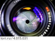 Диафрагма объектива. Стоковое фото, фотограф Филипп Чистяков / Фотобанк Лори