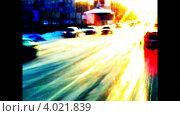 Дорожное движение. Стоковое видео, видеограф Yaroslav Bokotey / Фотобанк Лори
