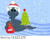 Купить «Открытка к Новому году», иллюстрация № 4023275 (c) Tati@art / Фотобанк Лори