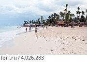 Пляж. Доминиканская республика (2012 год). Редакционное фото, фотограф Чернышев Александр Анатольевич / Фотобанк Лори