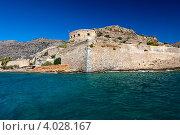 Купить «Крепость на острове Спиналонга, Крит», фото № 4028167, снято 30 августа 2012 г. (c) Дмитрий Ковязин / Фотобанк Лори