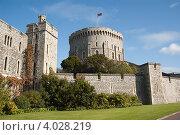 Виндзорский замок, Великобритания (2008 год). Стоковое фото, фотограф Ирина Фирсова / Фотобанк Лори