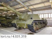 Тяжёлая советская самоходно-артиллерийская установка СУ-152 (2012 год). Редакционное фото, фотограф Mikhail Starodubov / Фотобанк Лори