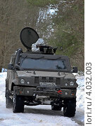 Купить «Бронеавтомобиль IVECO с военнослужащими ВДВ», фото № 4032003, снято 11 декабря 2019 г. (c) Matwey / Фотобанк Лори