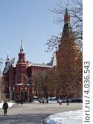 Кремль (2012 год). Редакционное фото, фотограф Сергей Шпаков / Фотобанк Лори