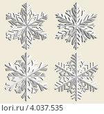 Купить «Снежинки», иллюстрация № 4037535 (c) Катыкин Сергей / Фотобанк Лори