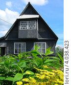 Дачный домик, Ногинский район, Московская область (2012 год). Стоковое фото, фотограф lana1501 / Фотобанк Лори
