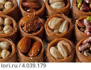 Восточные сладости. Стоковое фото, фотограф Екатерина Рыжова / Фотобанк Лори