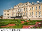 Рундальский Дворец. Латвия (2012 год). Стоковое фото, фотограф Борис Сунцов / Фотобанк Лори