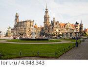 Собор в Дрездене, Германия (2010 год). Стоковое фото, фотограф Лукманов Виталий / Фотобанк Лори