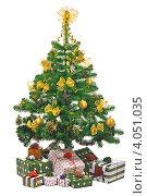 Купить «Подарки под елкой», фото № 4051035, снято 20 ноября 2008 г. (c) Литова Наталья / Фотобанк Лори
