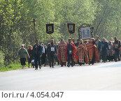 Крестный ход (2008 год). Редакционное фото, фотограф Юлия Ротанина / Фотобанк Лори
