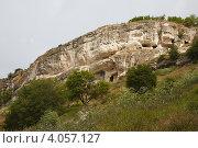 Бахчисарай. Пещерный город Чуфут-Кале (2011 год). Стоковое фото, фотограф Павел Спирин / Фотобанк Лори