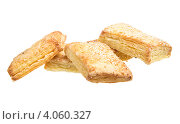 Купить «Сладкое печенье на белом фоне», фото № 4060327, снято 27 сентября 2012 г. (c) Андрей Старостин / Фотобанк Лори