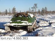 Гусеничный транспортёр-тягач ГТ-Т—вездеход для Севера (2012 год). Редакционное фото, фотограф Валерий Акулич / Фотобанк Лори