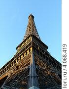 Эйфелева башня. Стоковое фото, фотограф Алексей Полумордвинов / Фотобанк Лори