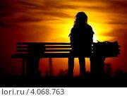 Одиночество. Стоковое фото, фотограф Александр Довгун / Фотобанк Лори