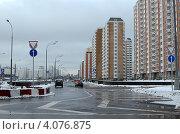 Проспект Защитников Москвы (Некрасовка) (2012 год). Редакционное фото, фотограф Окунев Александр Владимирович / Фотобанк Лори