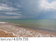 Черное море. Бугазская коса. Стоковое фото, фотограф Павел Спирин / Фотобанк Лори