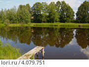 Мостки. Стоковое фото, фотограф Павел Спирин / Фотобанк Лори