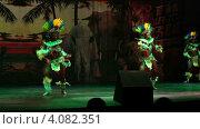 Купить «Зажигательный танец девушек в национальных костюмах. Вечернее африканское шоу в отеле Sueno Hotels Beach Side 5*. Турция. Сиде.», эксклюзивный видеоролик № 4082351, снято 4 декабря 2012 г. (c) Юлия Машкова / Фотобанк Лори