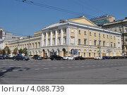 Малый театр, Москва, эксклюзивное фото № 4088739, снято 30 июля 2012 г. (c) lana1501 / Фотобанк Лори