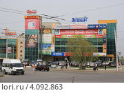 Купить «В центре Уфы», фото № 4092863, снято 24 апреля 2012 г. (c) Борис Кунин / Фотобанк Лори