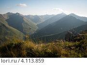 Горы Южной Осетии. Стоковое фото, фотограф Svetlana Yudina / Фотобанк Лори