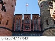 Купить «Фридрихсбургские ворота. Калининград», фото № 4117043, снято 28 октября 2012 г. (c) Сергей Трофименко / Фотобанк Лори