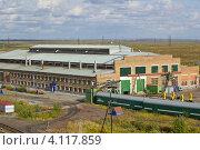 Вагонное депо города Воркута (2012 год). Стоковое фото, фотограф Оксана Кабрина / Фотобанк Лори
