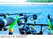 Рыбалка в Краснодарском крае. Стоковое фото, фотограф Тимур Ассакалов / Фотобанк Лори