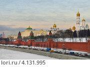Московская зима (2012 год). Стоковое фото, фотограф Валерия Попова / Фотобанк Лори