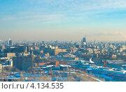 Купить «Москва. Зимний пейзаж», фото № 4134535, снято 19 декабря 2012 г. (c) Зобков Георгий / Фотобанк Лори