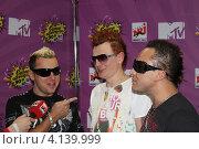 """Группа """"Отпетые мошенники"""" даёт интервью (2011 год). Редакционное фото, фотограф Юлия Ротанина / Фотобанк Лори"""
