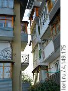 Балконы. Стоковое фото, фотограф Андрей Сериков / Фотобанк Лори