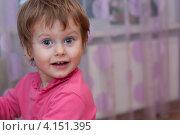 Портрет задорного ребенка. Стоковое фото, фотограф Маргарита Волгина / Фотобанк Лори
