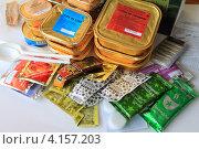 Купить «Питание солдата Российской армии», эксклюзивное фото № 4157203, снято 16 декабря 2012 г. (c) Анатолий Матвейчук / Фотобанк Лори