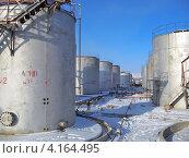 Купить «Старая нефтебаза», фото № 4164495, снято 29 февраля 2012 г. (c) Геннадий Соловьев / Фотобанк Лори