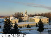 Купить «Церковь святой праведной Елизаветы в Дмитрове», фото № 4169427, снято 23 декабря 2012 г. (c) Денис Ларкин / Фотобанк Лори