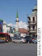 Купить «Казань. Мечеть Нурулла», эксклюзивное фото № 4181071, снято 7 июля 2012 г. (c) Илюхина Наталья / Фотобанк Лори