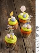 Купить «Пасхальные домашние пирожные», фото № 4191979, снято 29 декабря 2012 г. (c) Николай Охитин / Фотобанк Лори