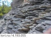 Горные камни крупным планом. Стоковое фото, фотограф Karataevo / Фотобанк Лори